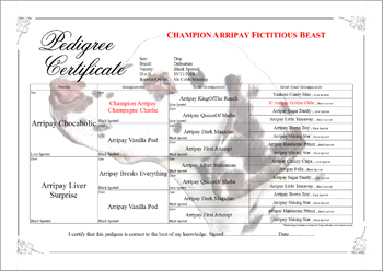 Breeder Assistant for Dogs Copperplate Pedigree